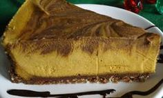Double Trouble Pumpkin Chocolate Cheesecake