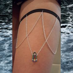 Cute lovely Virgin de GuadaLupe Virgin Mary thigh Chain by INGcouture on Etsy https://www.etsy.com/listing/240234449/cute-lovely-virgin-de-guadalupe-virgin
