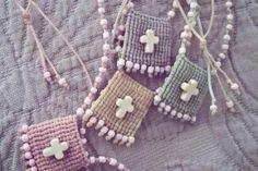 Βάπτιση - μαρτυρικά Christening Party, Baby Baptism, Baptism Ideas, Easter Parade, Communion, Crochet Baby, Diy Jewelry, Special Occasion, Crochet Necklace