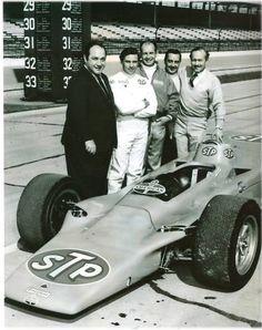 Parnelli Jones, & Jim Clark 1968 Indy 500
