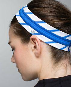 Lululemon Fly Away Tamer Headband*Quilt