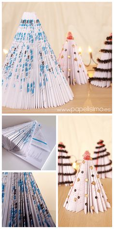 DIY Paper Christmas Tree Crafts christmas christmas tree christmas decorations christmas decor decorating for christmas christmas living rooms christmas home ideas christmas home decor ideas alternative christmas tree Diy Paper Christmas Tree, Diy Christmas Gifts For Family, Simple Christmas, Christmas Crafts, Christmas Decorations, Xmas, Christmas Christmas, Alternative Christmas Tree, Crafts With Pictures
