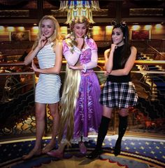 Photos: Peyton List With Rapunzel