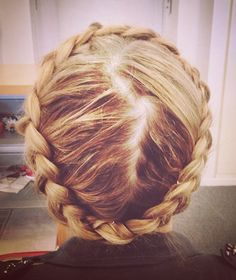 Would love to attempt the 'crown braid' sometime.