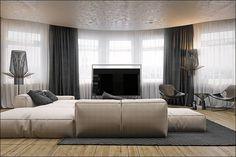 4 мужские квартиры с удобными диванами и изящной цветовой палитрой
