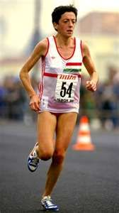 This Day In Track & Field History: 1983 - Rosa Mota set a female world record when she ran the 20k in 1 hour, 6 minutes and 55.5 seconds.  keepinitrealsports.tumblr.com  keepinitrealsports.wordpress.com