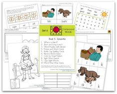 FREE BOB Book Printables: Set 4, Books 5 (Samantha) and 6 (Willy's Wish) | This Reading Mama