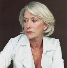 Helen Mirren- Meryl Streep devil wears prada haircut -