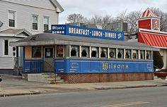 Wilson's Diner Waltham Ma (there was always that old maid rite diner I wanted to renovate....)