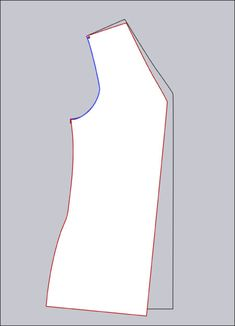 An easy Full Bust Adjustment (FBA) for no-dart fronts. Sewing Lessons, Sewing Blogs, Sewing Hacks, Sewing Tutorials, Sewing Projects, Sewing Tips, Tailoring Techniques, Sewing Techniques, Clothing Patterns