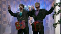 """Saturday Night Live: Justin Timberlake and Andy Samberg in """"D*ck in a Box"""" Soooo hilarious! I remember the first time I watched this. My Funny Valentine, Happy Valentines Day, Saturday Night Live, Andy Samberg Snl, Santa Real, Snl Skits, Plus Tv, Famous Stars, Thats The Way"""
