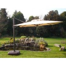 Find a complete range of quality cantilever parasols for commercial & residential use with a variety of sizes, shapes and colours in stock. With prices from £199.99 and FREE UK Mainland delivery, what more could you need.