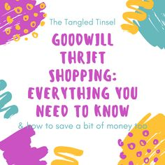 I honestly LOVE thrift shopping and actual go into my favorite hotspots EACH weekend. My favorite spot? The Goodwill Outlet. My second favorite? What I like to call – The Goodwill Proper (the…