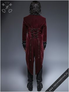Y-635,y635,y-635rd,red,gothic,mens gothic clothing,romantic,punk rave,punkrave,palace,elegant,aristocrat