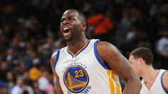 Clippers guard Dahntay Jones has been fined $10K for bumping Golden State Warriors forward Draymond Green during a postgame interview - hilarious