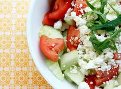 GREEK COOK LOVERS: GREEK SALAD (XORIATIKI CLASSIC)