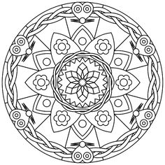 """Free printable mandala coloring pages   free sample   Join fb grown-up coloring group: """"I Like to Color! How 'Bout You?"""" https://m.facebook.com/groups/1639475759652439/?ref=ts&fref=ts"""