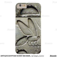 ANTIQUE EGYPTIAN HONEY BEE BEEKEEPER Black White Barely There iPhone 6 Plus Case