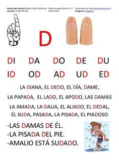 Cartilla de Lectura en Mayúsculas Spanish Pronunciation, Pin On, Pre Writing, Spanish Lessons, Dyslexia, Preschool, Education, Words, Early Education