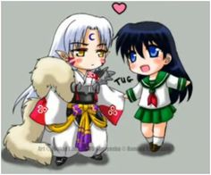 Sesshomaru And Kagome Photo:  This Photo was uploaded by death_meow. Find other Sesshomaru And Kagome pictures and photos or upload your own with Photobu...
