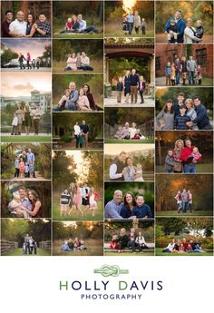 Fall Family Portraits, Family Photography Posing, Family pics, Outdoor family portraits, Holly Davis Photography | The Woodlands, TX