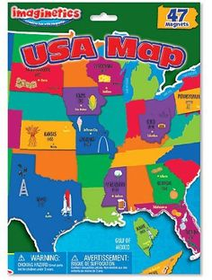 International Playthings Imaginetics USA Map by Imaginetics. $7.99. Easy to take along anywhere you go. Imaginetics playsets are perfect for travel time, quiet time, group time, anytime!. Chunky magnet pieces are easy for kids to handle. Sturdy magnetic playsets are perfect for kids 3 & up to create pictures, tell stories and play game. From the Manufacturer                International Playthings Imaginetics USA Map                                    Product D...