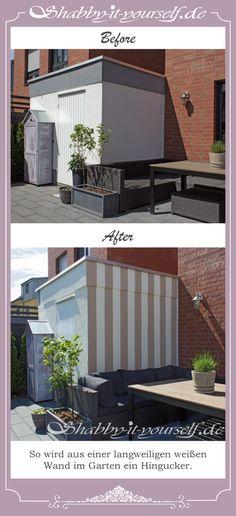 Ihr Fragt Euch, Wie Ihr Eure Wand Im Garten Gestalten Könnt? Wie Wäre Es