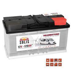 BSA SOLAR AGM Batterie 180Ah 12V Boot Wohnmobil Batterie Bleiakku Vlies-Batterie