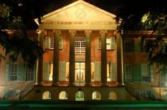 Randolph Hall at the College of Charleston City Of Charleston, College Of Charleston, College Years, College Campus, Southern Charm, Southern Living, World's Most Beautiful, Beautiful Places, Sullivans Island