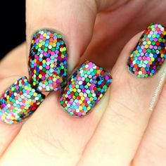 Nail Art, Nail Designs, Unique Nails, Nail It Daily Crazy Nail Designs, Nail Polish Designs, Nail Art Designs, Nails Design, Cute Nails, Pretty Nails, Hair And Nails, My Nails, New Years Eve Nails