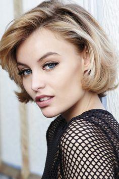 Chin Length Hairstyles Prepossessing Chin Length Bob For Blonde Hair Hair  Pinterest  Chin Length