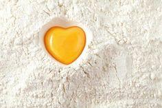 Cœur jaune d'œuf !