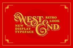 WEST END + Stout bonus by Pavel Korzhenko on Creative Market