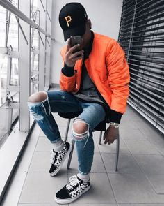 3 Grand Cool Tips: Urban Fashion Spring Ready To Wear mens urban wear streetwear.Urban Wear For Men Leather Jackets vintage urban fashion fall. Outfit Jeans, Ripped Jeans Outfit Casual, Casual Outfits, Men Casual, Streetwear Men, Streetwear Fashion, Urban Outfits, Mode Outfits, Boy Fashion