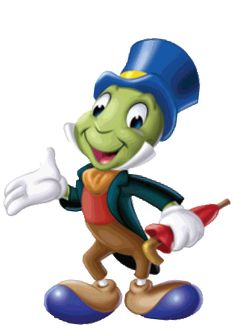 Islands of Adventure Clip Art | Jiminy Cricket