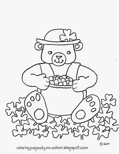 Fun St Patricks Day Coloring Page See More Like This At My Blog