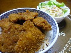 さっくりじゅわ~の福井のソースかつ丼♪