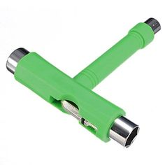 Skateboard Tool  TOOGOOR Roller Rollerskate Skateboard Scooter All in 1 T Skate Board ATB Tool  Allen Key green -- See this great product. Note: It's an affiliate link to Amazon
