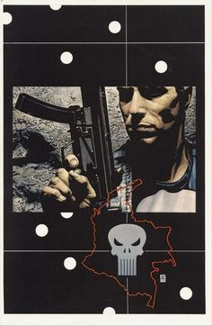 Splash Page Comic Art :: For Sale Artwork :: Punisher by artist Tim Bradstreet