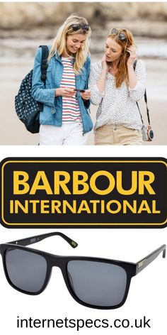 Designer sunglasses for women - Looking for quality Designer sunglasses for women? We offer a good selection of Barbour International Sunglasses that have been manufactured with expert craftsmanship, synonymous with the iconic British Barbour brand, famous for its wax jackets, that was founded back in 1894 when Queen Victoria was still on the throne! With our selection of the highest quality designer sunglasses, beauty and style will bring a smile on your face. #glasses #eyeglasses #designer Oversized Sunglasses, Sunglasses Women, Designer Prescription Glasses, Glasses Outfit, Barbour International, Wax Jackets, Women Brands, Looking For Women, Aviators