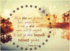 Gods plan - Hoopvolle toekomst