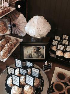 Elena's Baptism - Vintage Dessert Table