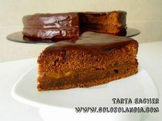 tarta Sacher de chocolate fácil receta paso a paso  http://www.golosolandia.com/2014/10/tarta-sacher-de-chocolate.html
