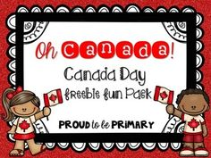 This Canada Day FREEBIE Pack is perfect for in preparation for Canada Day with your students or as part of your Canada unit. It has 9 pages of differentiated writing activities to teach about the importance of Canada to Canadians! It is a sample of my ful Kindergarten Social Studies, Social Studies Activities, Kindergarten Lessons, Kindergarten Activities, Writing Activities, Canada For Kids, All About Canada, Canada 150, Primary Teaching