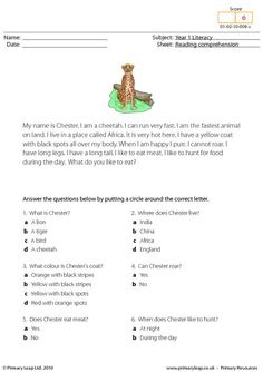 math worksheet : students read the text and answer the multiple choice questions  : Reading Comprehension With Multiple Choice Questions Worksheets