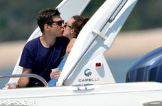 Keira Knightley and James Righton Honeymoon in Corsica