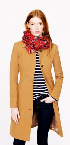 Double-Cloth Coat with Thinsulate...Fall fashion here we come!