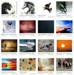 Free Spirit  https://www.etsy.com/treasury/Mzc3MTY5ODJ8MjcyNjIzMjAzNA/free-spirit  #art #photography #freespirit #wildhorses #birds