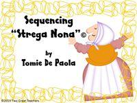 "Sequencing ""Strega Nona"" | Lesson Plans"