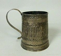 Value Added Tax, Money Laundering, The Saleroom, Online Bidding, Colonial, Auction, Mugs, Silver, Tumblers